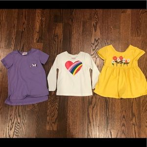 Set of 3 Hanna Andersson Tees